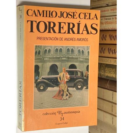 Torerías (El gallego y su cuadrilla / Madrid / Toreo de Salón y otras páginas taurinas). Presentación de Andrés Amorós.
