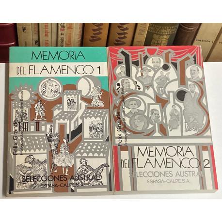 Memoria del Flamenco. Prólogo de José Manuel Caballero Bonald.