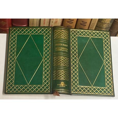 Obras poéticas completas. Edición revisada. Introducción y ensayo bibliográfico de Federico Carlos Sainz de Robles.