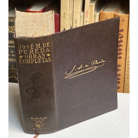 Obras Completas con un estudio preliminar por José María de Cossío.