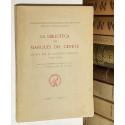 La Biblioteca del Marqués del Cenete iniciada por el Cardenal Mendoza (1470 - 1523). Publica su inventario...