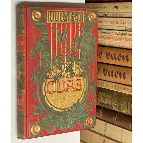 Odas de... Traducidas é imitadas por Ingenios Españoles y coleccionadas por M. Menéndez Pelayo.