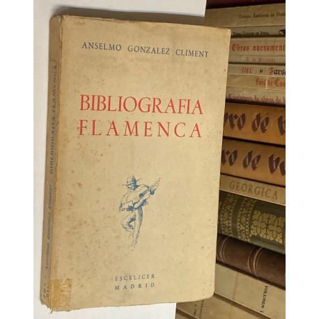 Bibliografía flamenca.