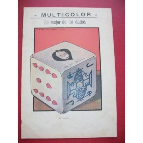 MULTICOLOR 96 - Semanario Político Humorístico Ilustrado.