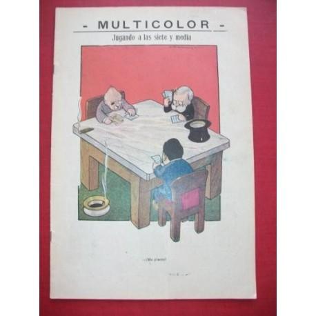 MULTICOLOR 98 - Semanario Político Humorístico Ilustrado.