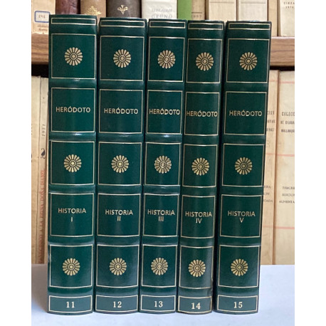 Historia. 5 tomos. (COMPLETO).