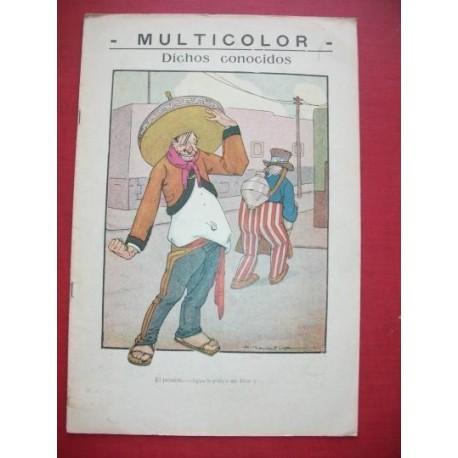 MULTICOLOR 102 - Semanario Político Humorístico Ilustrado.