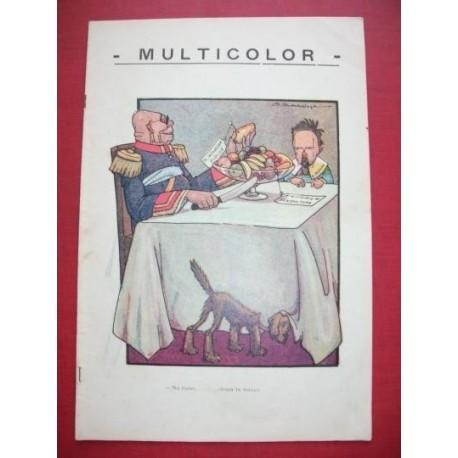 MULTICOLOR 108 - Semanario Político Humorístico Ilustrado.