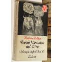 Poesía hispánica del toro. Antología siglos XIII al XX.