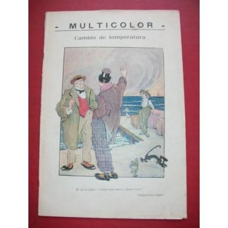 MULTICOLOR 133 - Semanario Político Humorístico Ilustrado.