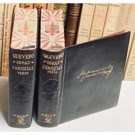 Obras Completas. Tomo I: Obras en Prosa. Tomo II: Obras en verso. Estudio preliminar, edición y notas de Felicidad Buendía.