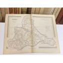 Mapa de ZARAGOZA perteneciente al Atlas Geográfico de España.