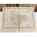 Mapa de VALLADOLID perteneciente al Atlas Geográfico de España.