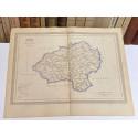 Mapa de SORIA perteneciente al Atlas Geográfico de España.