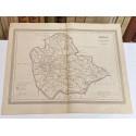 Mapa de SEVILLA perteneciente al Atlas Geográfico de España.
