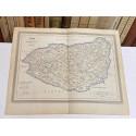 Mapa de LEÓN perteneciente al Atlas Geográfico de España.