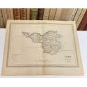Mapa de GERONA perteneciente al Atlas Geográfico de España.