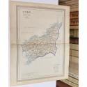 Mapa de LA CORUÑA perteneciente al Atlas Geográfico de España.