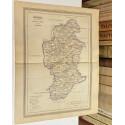Mapa de BURGOS perteneciente al Atlas Geográfico de España.