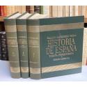 ESPAÑA PRIMITIVA. La prehistoria. La protohistoria. La historia prerromana. Tomo I (volúmenes I, II y II).