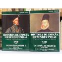 La España de Felipe II (1527-1598). Tomos XXII (volúmenes 3 y 4).
