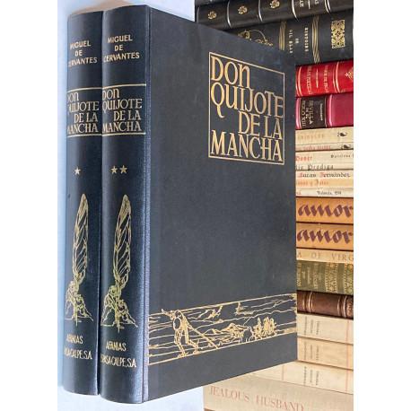 El Ingenioso Hidalgo Don Quijote de la Mancha. Ilustrado por José Segrelles.