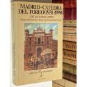 Madrid - Cátedra del toreo (1931-1990). Prólogo de Vicente Zabala. Epílogo de Juan Antonio Gómez-Angulo.