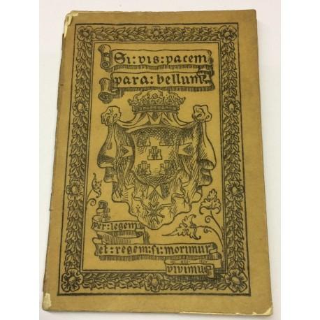 SI VIS PACEM, PARA BELLUM: Carta del Marqués de Heredia a su nieto Narciso José de Liñan y Heredia.