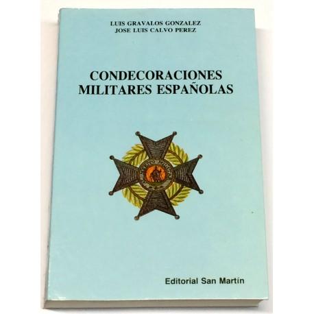 Condecoraciones militares españolas.