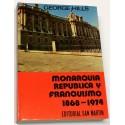 Monarquía, República y Franquismo. 1868 - 1974.
