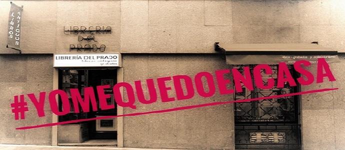 Librería del Prado cerrada por alerta sanitaria