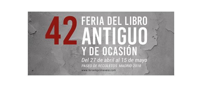 42 Feria del Libro Antiguo y de Ocasión